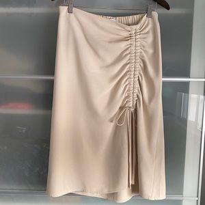 New Oak+Fort Midi Skirt, L